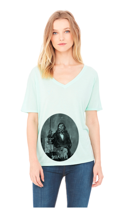 Talkhouse - Women's Flowy V-Neck